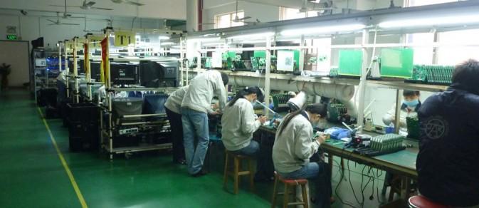SMT贴片加工厂后焊段