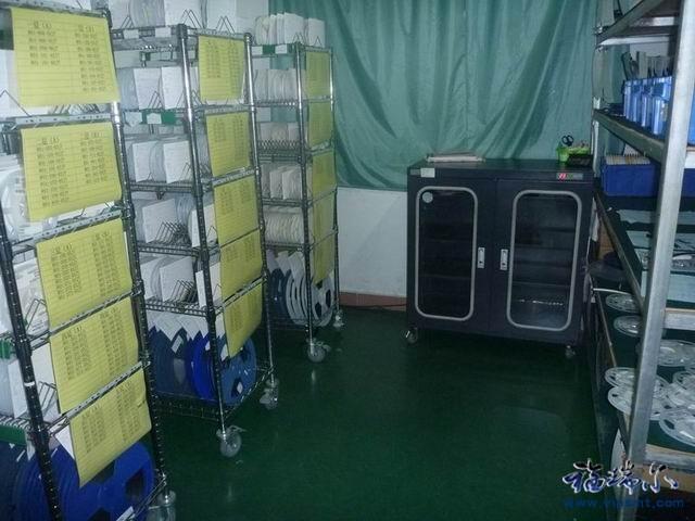 SMT车间湿敏元器件的运输 存储 使用要求