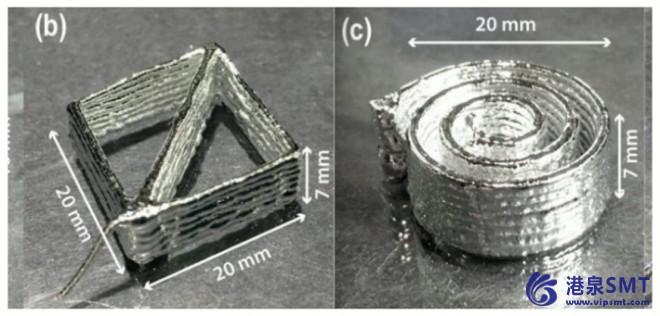 修改后的3D打印合金有望为柔性电子、软机器人提供前景。