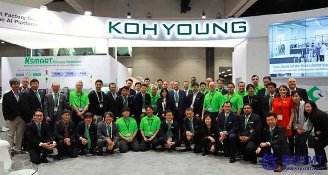 IPC顶点博览会证明了Koh Young的巨大成功。