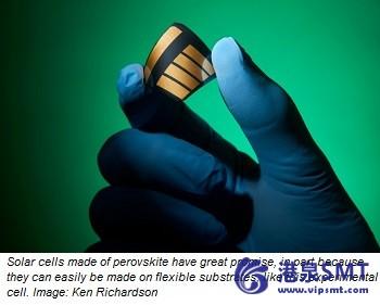 释放钙钛矿对太阳能电池的潜能