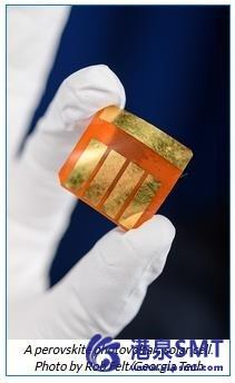 X射线揭示了为什么加入一点盐可以改善钙钛矿太阳能电池。