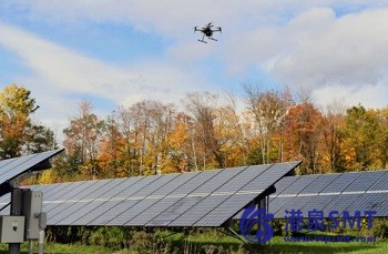 用智能无人机优化太阳能农场