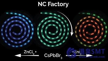 """纳米晶体""""工厂""""将彻底改变量子点制造。"""