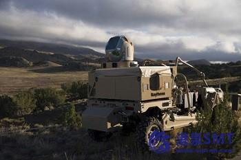 雷神定向能系统在美国空军演习中击落多架无人机