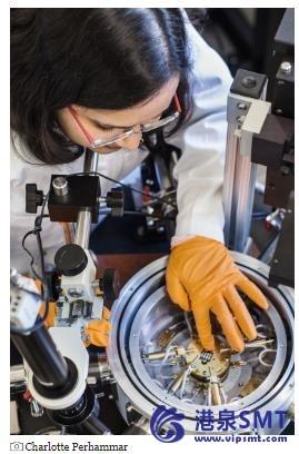 水在有机电子产品中制造陷阱